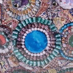 Cobalt Blue Spring Ring