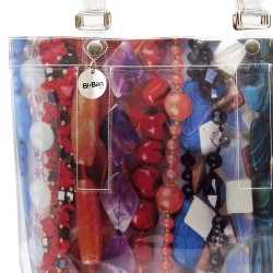 Purple Turquoise Sphere Ring