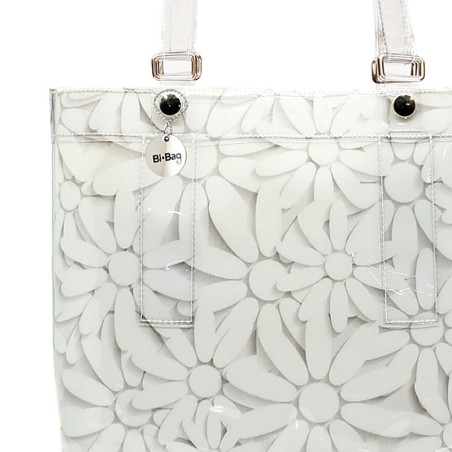Bronze Flowers Button