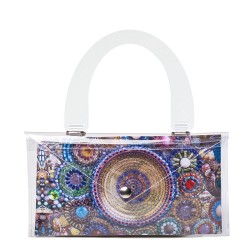 Multicolor Heart Button