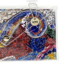 Bottone Crystal Blu cobalto