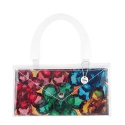Sea Green Eyes Button