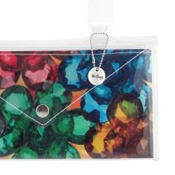 Bottone Luna Blu