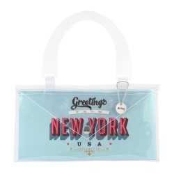 Bottone Stella Blu