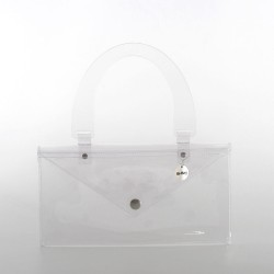 1 button bracelet in leather with metal closure